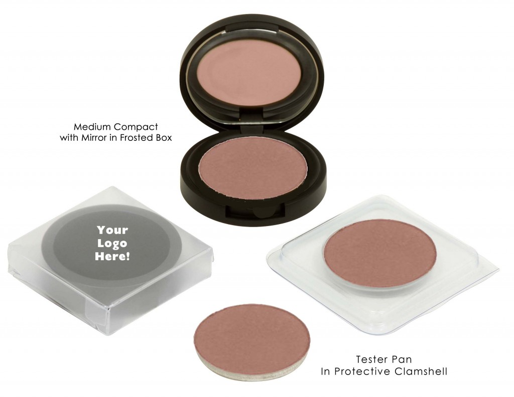 Natural Organic Vegan Pressed Blush Packaging