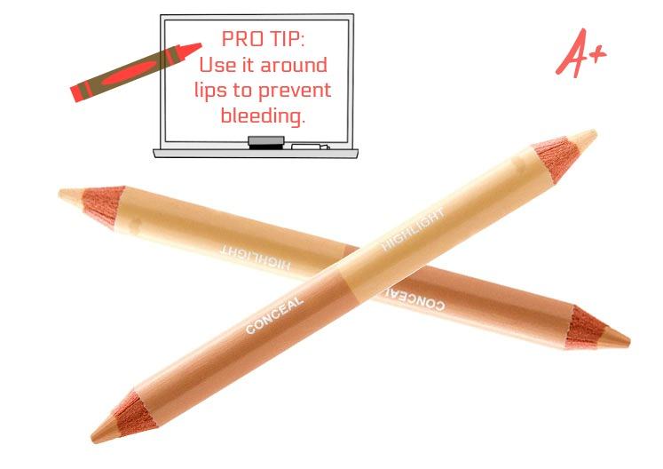 duo concealer pencil
