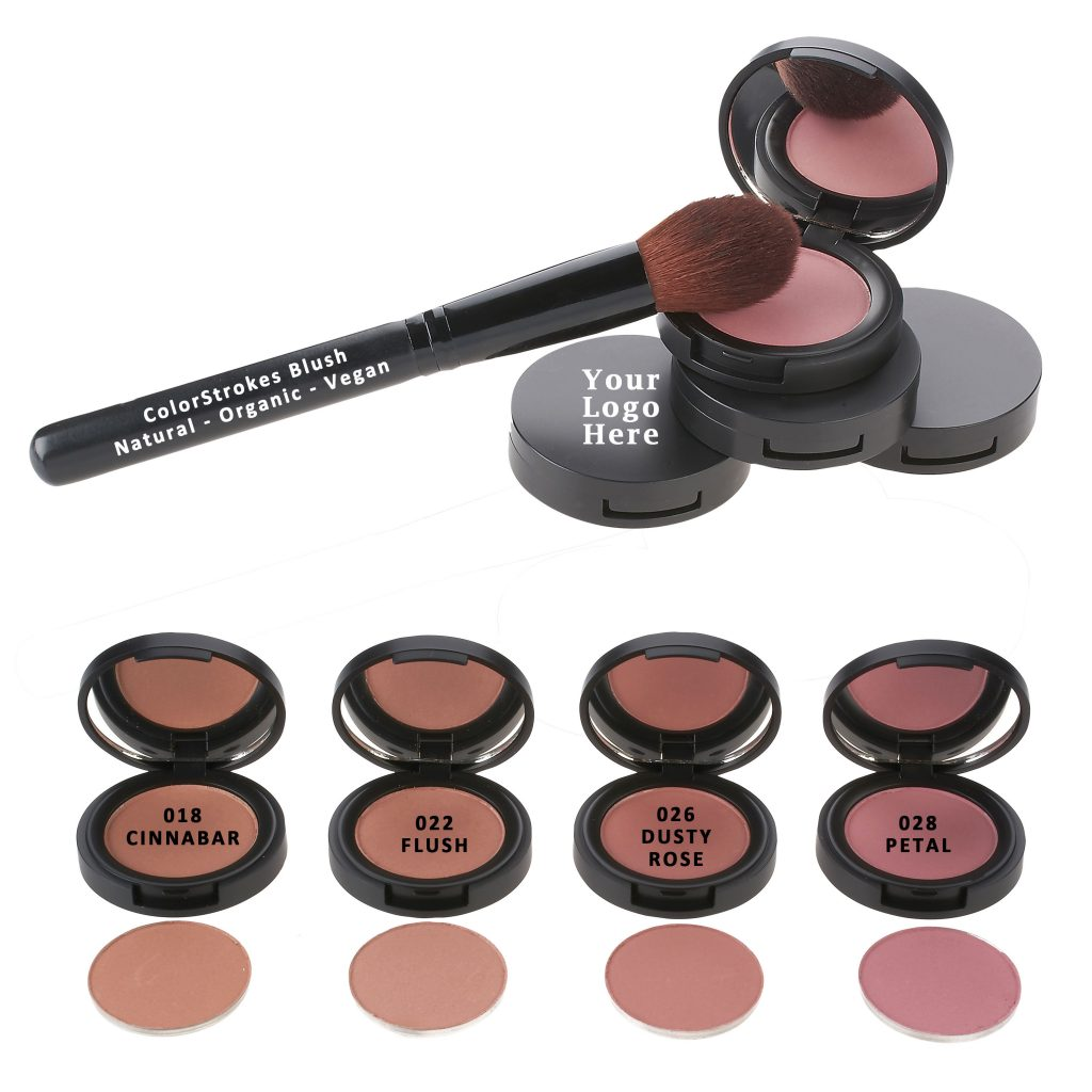 Natural Pressed Blush Shades
