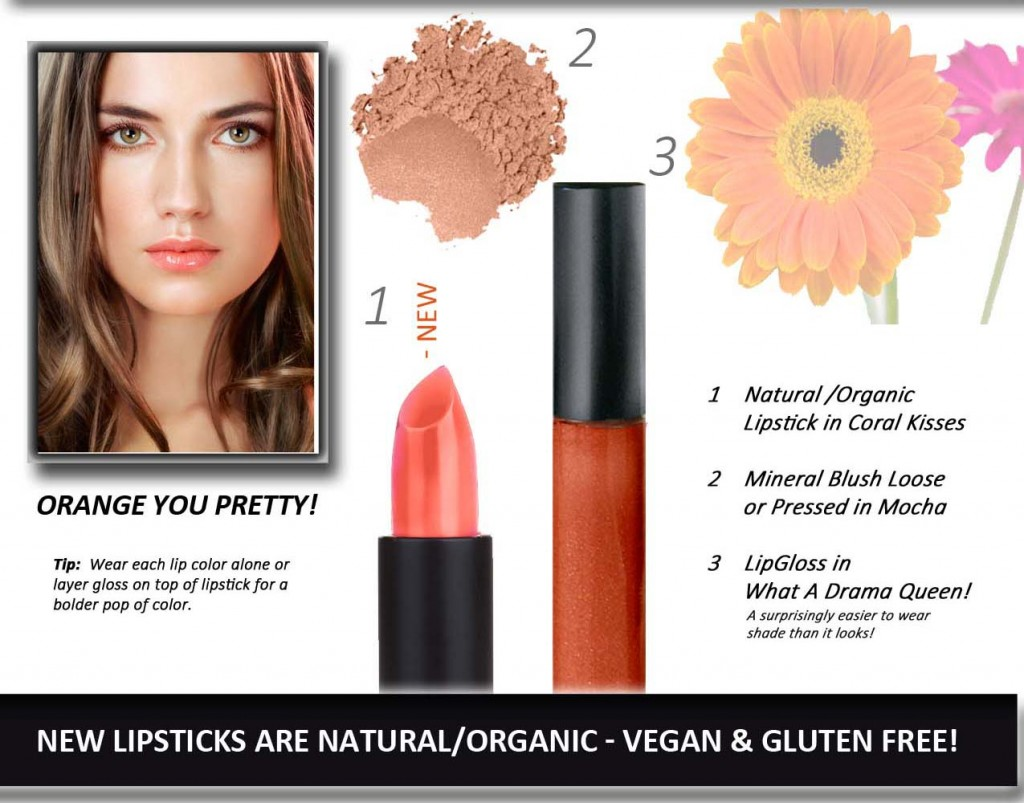 u Pretty Natural Organic Lip products