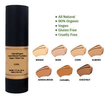 Shades of foundation