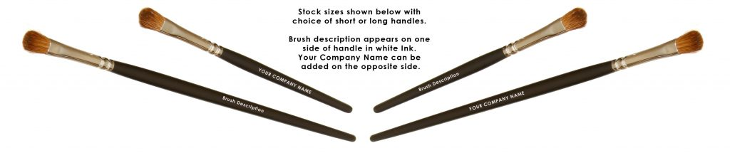 Choice of short and long handles with your name