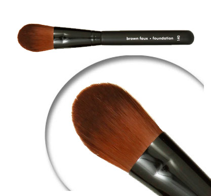 Brow Faux Vegan Foundation Brush