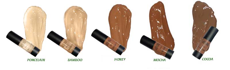 new foundation swatches