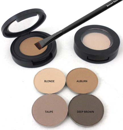 Natural Organic Brow Powders: Vegan & Gluten Free