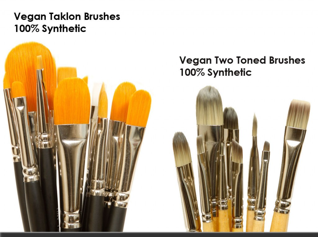 Vegan Synthetic Taklon Brus