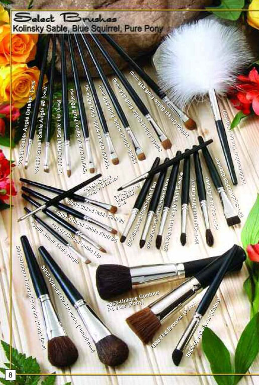 select brushes