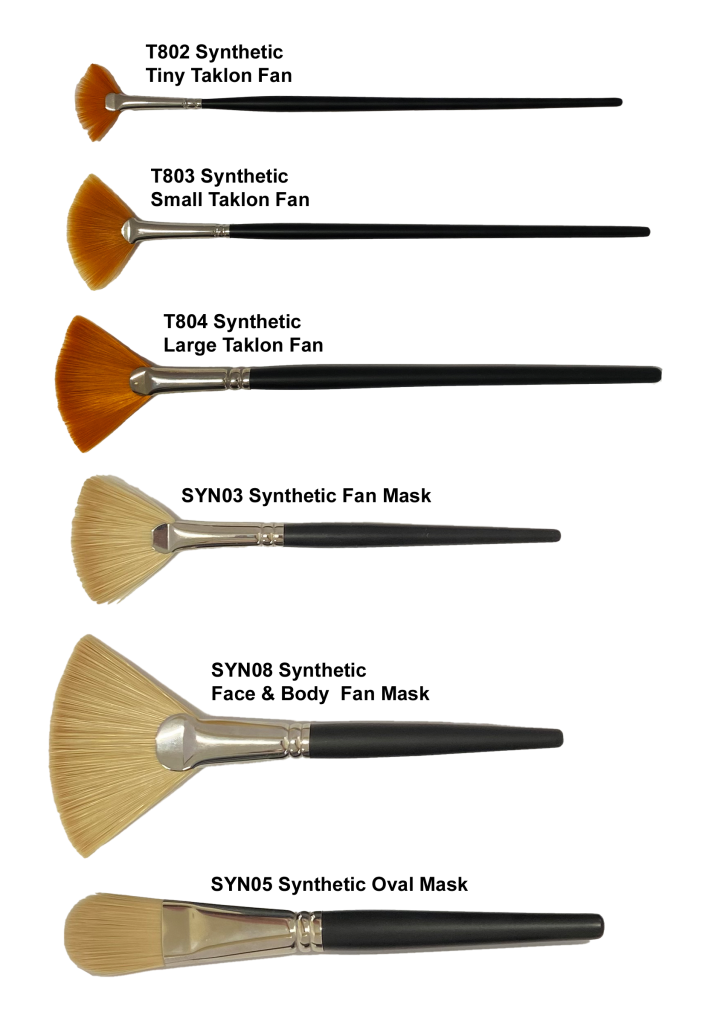 Synthetic Treatment Brushes